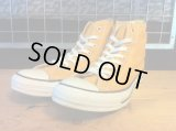 【30387-1562】converse ALL STAR HI (ゴールド) USED
