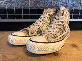【31100-1723】converse ALL STAR RETRO DORAEMON HI (ナチュラル) USED