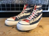 【31911-1976】converse ALL STAR STARS&BARS HP HI (ネイビー) USED